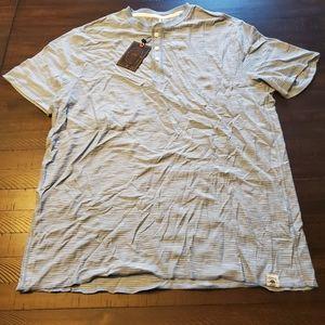Other - Copper & Oak Short Sleeve Fashion Henley
